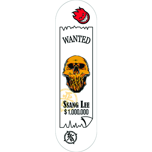 2018 Nueru Model Deck Wanted- Skull (원티드-해골)